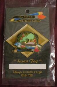 Disney Artist Choice Jungle Book Mowgli /& Baloo By Susan Foy Limited Edition Pin