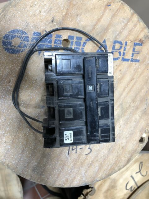 Cutler Hammer Bab3030hs 240 Vac 30 A 3 P Circuit Breaker W   Shunt Trip For Sale Online