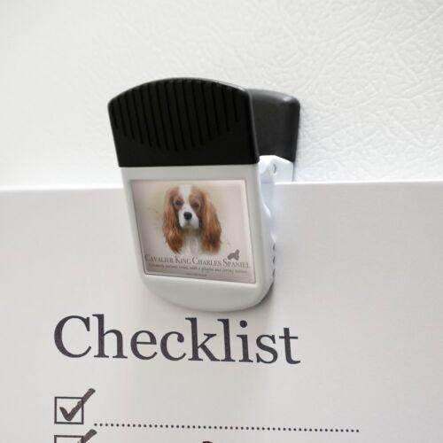 Cavalier King Charles Spaniel Dog Breed Refrigerator Fridge Magnet Hanging Clip