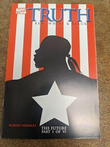TRUTH: Red White & Black #1 1st appearance Isaiah Bradley Falcon Winter Soldier