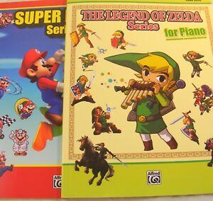 Details about Zelda, Super Mario - Video Gamers Piano Sheet Music Combo  Pack ! Gift