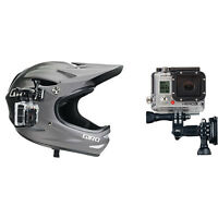 GoPro Side Mount for Hero 1/2/3/3+/4/4 Session Cameras, Helmet AHEDM-001 - Black