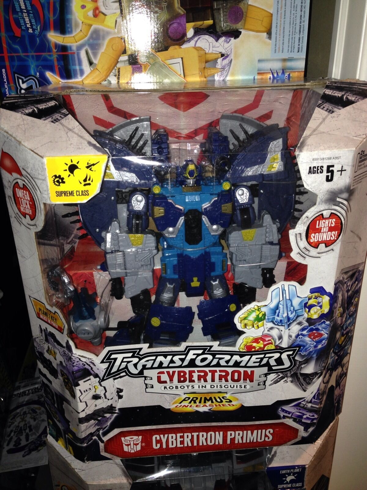 Transformers Cybertron Planet Primus Supreme Class New Sealed