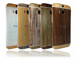 textured wood skin sticker for htc one m8 cover decal wrap. Black Bedroom Furniture Sets. Home Design Ideas