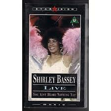 SHIRLEY-BASSEY-LIVE-YOU-AIN-039-T-HEARD-NOTHING-YET-VHS-1985