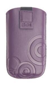 4-OK-UP-Tasche-SchutzHulle-Cover-Etui-Case-Lila-fur-Samsung-Galaxy-Gio-S5660