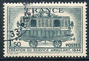 STAMP-TIMBRE-FRANCE-OBLITERE-N-609-SERVICE-POSTAL-AMBULANT