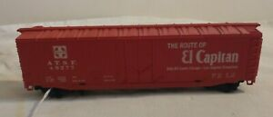 Tyco HO Scale Santa Fe ATSF 49277 El Capitan Box Train Car Plug Door