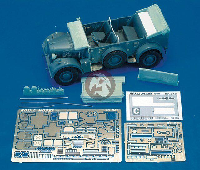 Royal Model 1 35 Horch Kfz.15 Update Set (for Tamiya   Italeri) [Resin + PE] 341