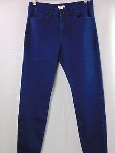 Forever-21-Dark-Blue-Skinny-Stretch-Jegging-Denim-Jeans-Women-039-s-Size-31