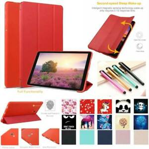 For-Samsung-Galaxy-Tab-A-A2-A6-10-5-10-1-034-Tablet-TPU-PU-Leather-Smart-Case-Cover