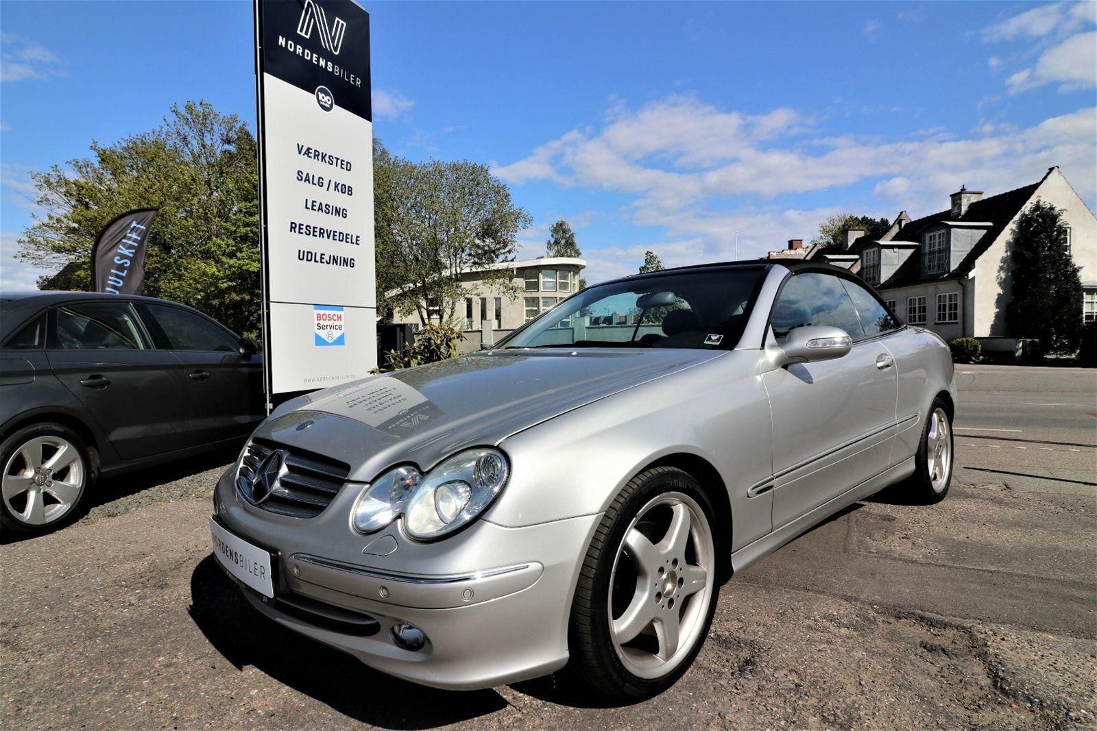 Mercedes CLK320 3,2 Cabriolet Elegance aut. 2d