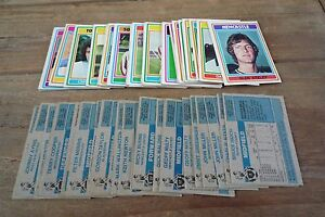 Pick The Cards You Need Nos 201-330 VGC! Topps Blue Back Football Cards 1976