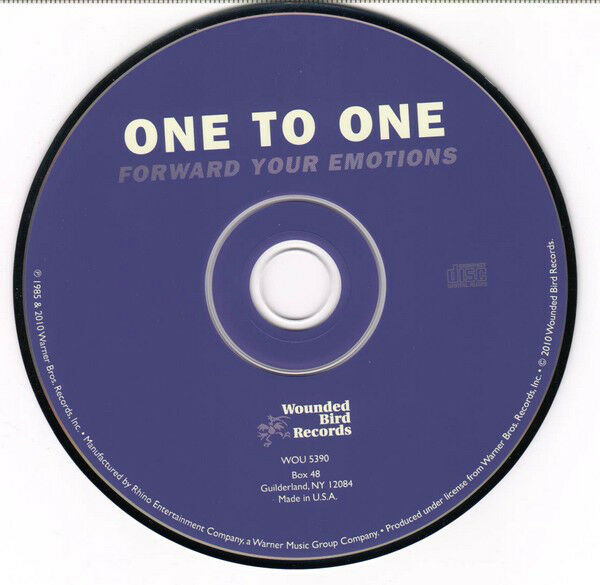 One To One-Forward Your Emotions-2010-JUST.rar
