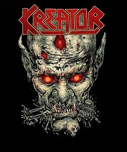 KREATOR-cd-lgo-ZOMBIE-DINNER-Official-SHIRT-LRG-New-violent-mind