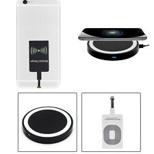 Qi Wireless Kit Transmitter Charger Adapter Receiver Pad Coil For Iphone 7 Plus