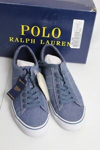 Polo Details About D Shoes Ralph Lauren Indigo Canvas Sneakers 5 Sayer Chambray Fashion 8 ZiXuwkTlOP