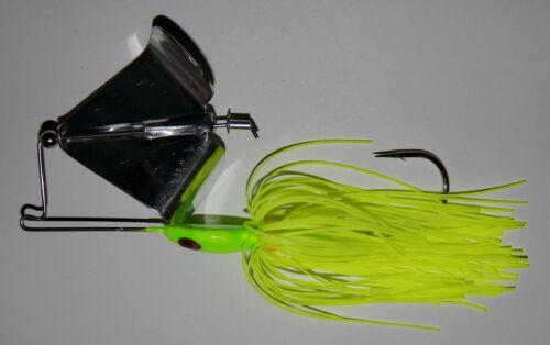 "Custom Made /""Head Thumper/"" Topwater Buzzbait -Bass Fishing 1//2 Oz Chartreuse"