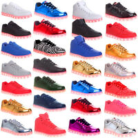 Mens Boys Led Light Up Party Flashing Sneakers Trainers Designer Shoes Size 11