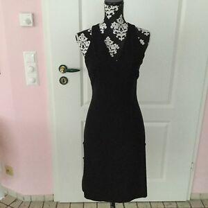 Versace Jeans Couture Damen Kleid Schwarz Gr 36 Neuwertig Ebay