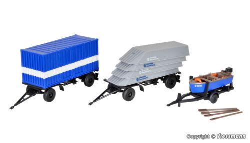 Kibri H0 18471    3 THW Anhänger Wasser Öln NEU//OVP