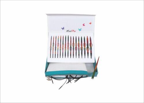 KnitPro Set austauschbare Rundstricknadel Nadelspitzen SYMFONIE Colours of Life