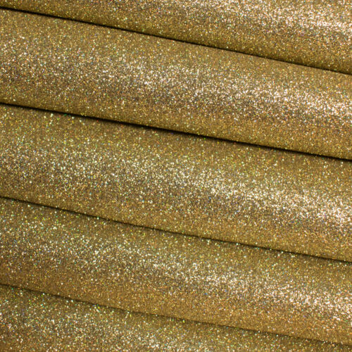 Premium Quality Fine Glitter Fabric Sheets for Bows and Crafts Solid Colours