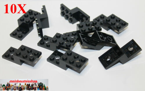 LEGO Bau- & Konstruktionsspielzeug 10X Lego® 11215 Winkel-Platten Halter Bracket 5X2X11/3 Schwarz Black NEU