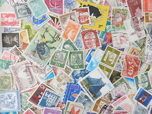 STAMP-WORLD-WIDE-1000-pc-lot-off-paper-kiloware-philatelic-collection-used