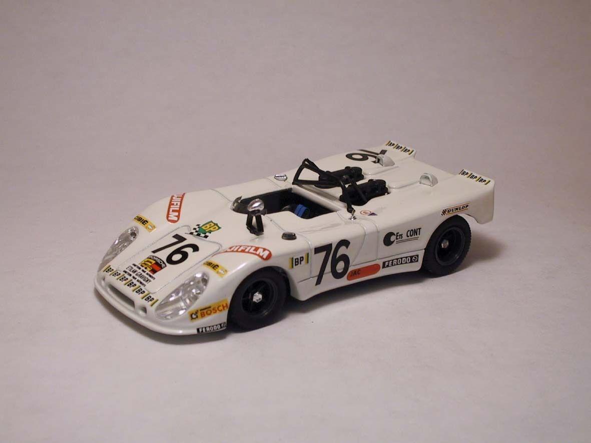 Porsche 908 2 suprême  76 liste d'exécutions le hommes  1972 LAGNIEZ Touroul 1 43 MODEL  à bon marché