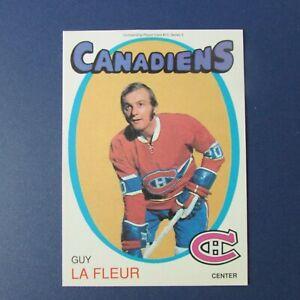 GUY-LAFLEUR-1991-Replicards-1971-72-O-Pee-Chee-reprint-MONTREAL-CANADIENS