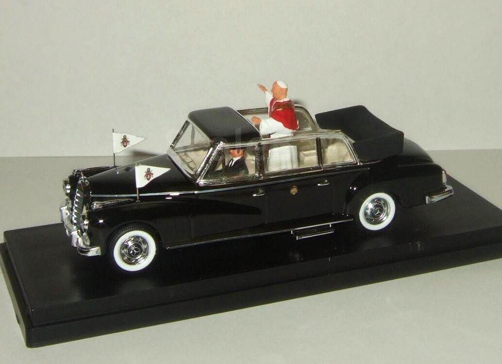 Mercedes Benz - 300 d sedán sedán sedán 1960 with figure papá Giovan río 4100 p New 1 43 318568