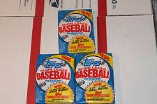 1986 Topps Baseball Packs Vintage Unopened Lot.