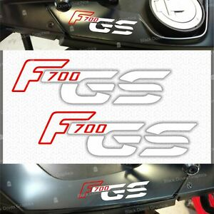 2x-Adhesifs-F-700-GS-Rouge-Blanc-Compatible-avec-BMW-Motorrad-F700GS-F700