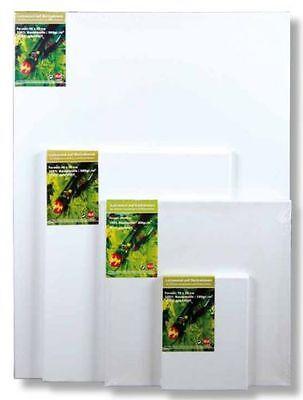 Ramendo® Leinwand auf Keilrahmen 30x30 cm 380g//m²