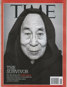 TIME-Magazine-DALAI-LAMA-FACE-OF-BUDDHISM-The-Survivor-MARCH-18-2019-No-Label