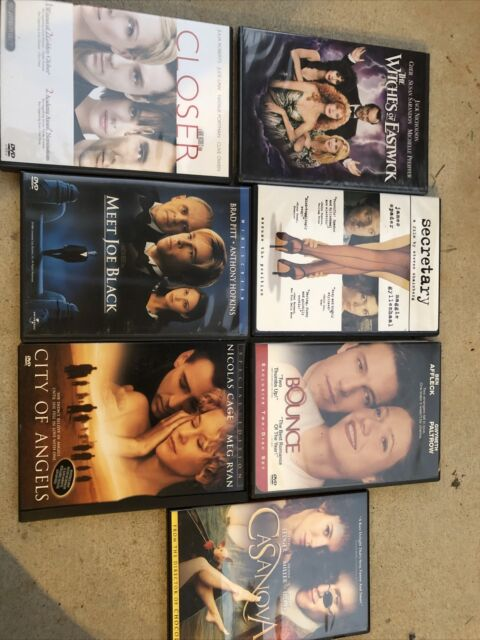 Lot Of 7 Dvd Movies, Romance and Romantic Comedy
