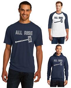 New-Aaron-Judge-New-York-Yankees-T-Shirt-or-3-4-Sleeve-Hoodie-Hooded-Sweatshirt