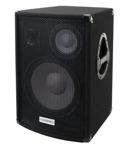 "B-WARE DJ PA 3-WEGE PASSIV LAUTSPRECHER BOX BÜHNEN MONITOR 12/"" 30CM SUBWOOFER"