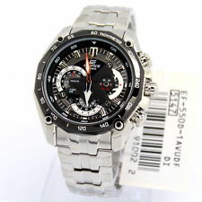 Casio Edifice EF-550D-1AV EF-550D Chronograph Tachymeter Men's Watch