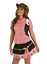 Short-Sexy-Cute-Cowgirl-Wild-West-Size-Large-Ladies-Fancy-Dress-Costume thumbnail 2
