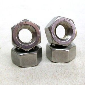 Details about LOT OF 44 NEW 7/16-14 STAINLESS HEAVY HEX NUT GRADE 8 ASTM  A194 FREE SHIPPING NH