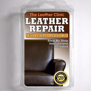 Image Is Loading DARK BROWN Leather Sofa Amp Chair Repair Kit
