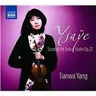 Eugene Ysaye - Ysaÿe: Sonatas for Solo Violin (2014)