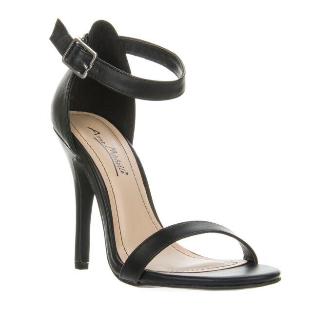 New Anne Michelle Women Ankle Strap High Heel Classy Dress Sandal Shoe ENZO-01