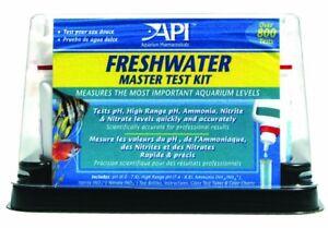 Confiant Api Freshwater Master Kit Test 800+ Comte   Saine Aquarium Poisson-afficher Le Titre D'origine