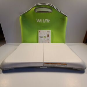 Nintendo Wii Fit with Balance Board and Green carrying case Tested and working