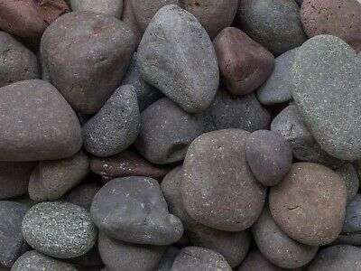 Red Beach Pebbles Small Large River Rocks Landscaping Ebay