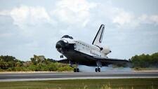 Space Shuttle Landing Poster
