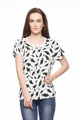Fasnoya Printed Casual Top for Women - tpeb12